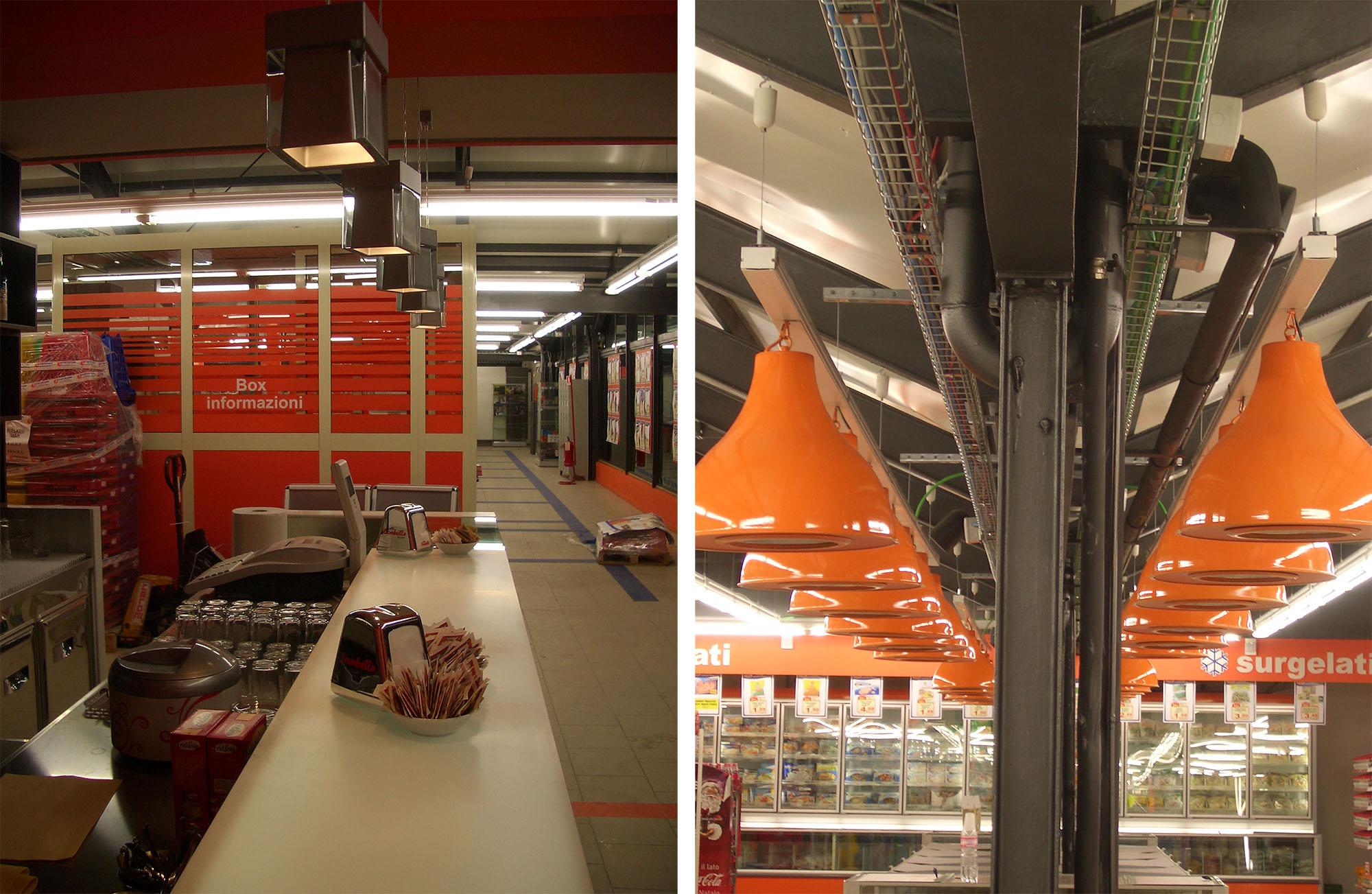Punti ristoro e tabacchi CTS supermercato, Via Cassia | TStudio ...