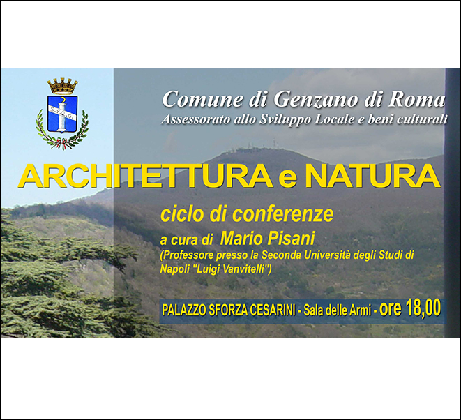 """Architettura e Natura"" | Genzano"