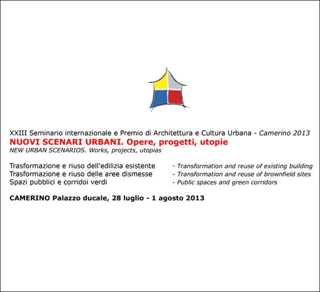 Nuovi scenari Urbani | Camerino