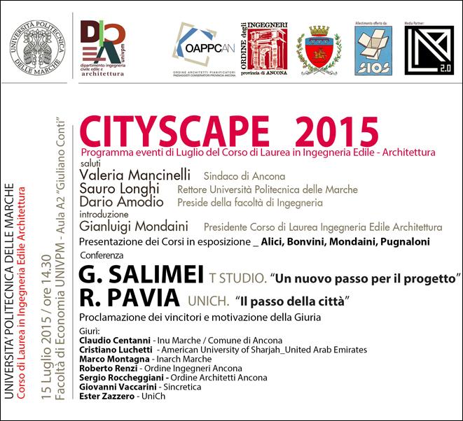 Intervento al Cityscape 2015