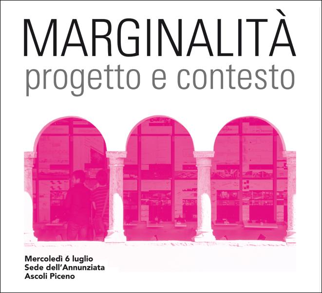 """""""Marginalità–Progetto e Contesto"""""""