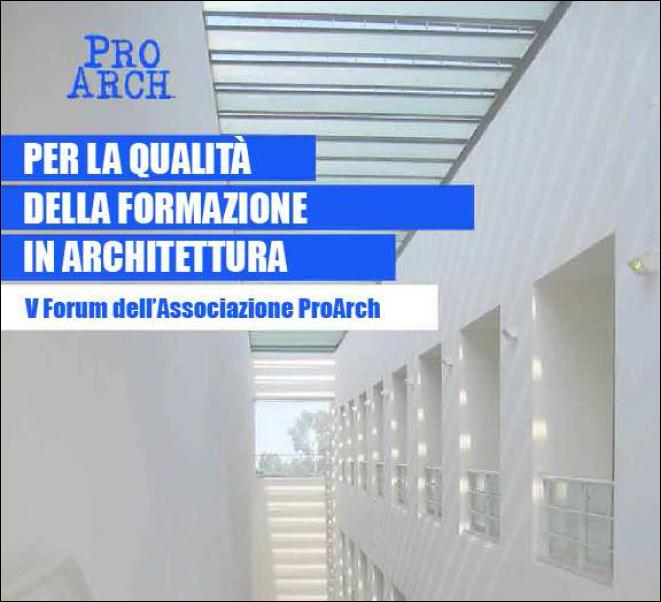 V Forum Proarch