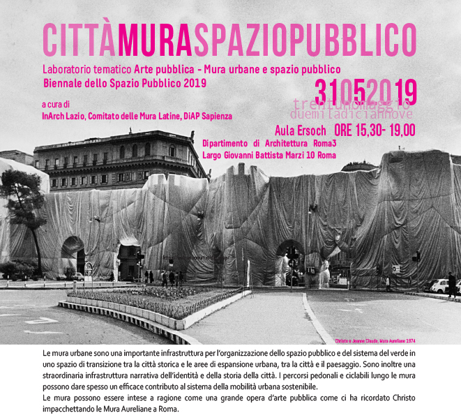 BIENNALE OF THE PUBLIC SPACE | CITY WALLED PUBLIC SPACE