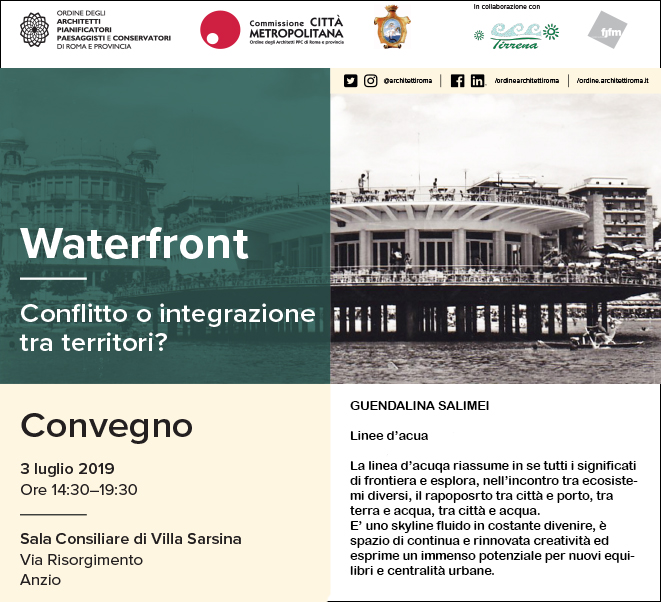 WATERFRONT | CONFLICT OR INTEGRATION BETWEEN THE TERRITORIES?