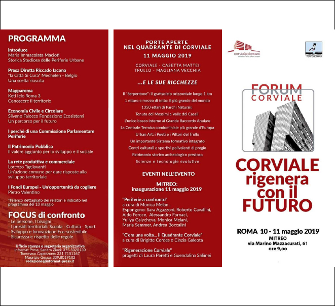 CORVIALE REGENERATE WITH THE FUTURE
